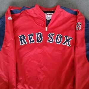 Majestic Other - RED SOX  Men's pull over