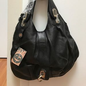 gustto Handbags - Gustto Black leather bag