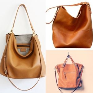 SALE Coach leather hobo bag