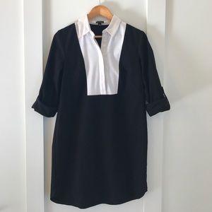 Ann Taylor Dresses & Skirts - Ann Taylor Colorblock Bib Shirtdress Size 8