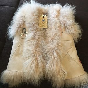 Scotch & Soda Other - Lamb Hair Fur Vest