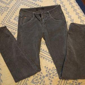 H By Hudson Pants - Grey h by hudson skinny courduroys