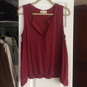 Anthropologie Tops - Anthropologie Cloth & Stone Flowy Tank M