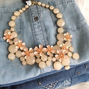 J. Crew Jewelry - J.Crew water lily necklace