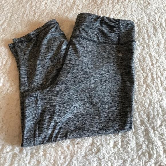 Tangerine 🍊 XXL Capri Yoga Pants EUC W Side
