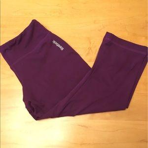 Reebok Purple Active Capri