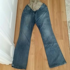 Jessica Simpson Denim - Medium Maternity over the belly boot cut jeans