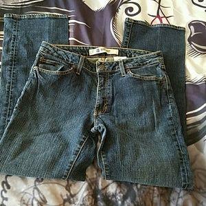 GAP Denim - GAP jeans sz 8 boot cut stretch dark wash