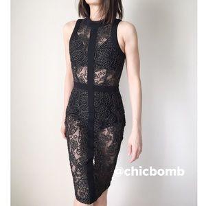 CHICBOMB Dresses & Skirts - NEW Aria Rebel mesh midi dress.