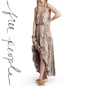 Free People Dresses & Skirts - FREE PEOPLE VALERIE BOHO MAXI DRESS M