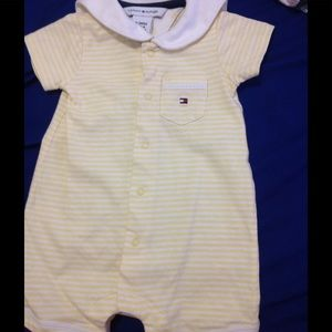 Tommy Hilfiger Other - Light yellow and white stripe one piece