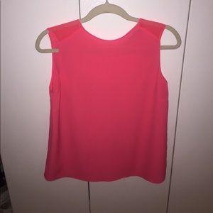 Zara Pink Sleeveless Blouse