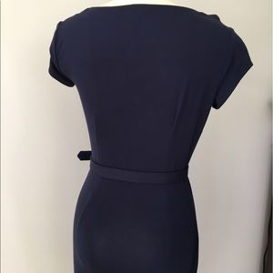 Cache Coeur Dresses - Cache Navy Belted Dress