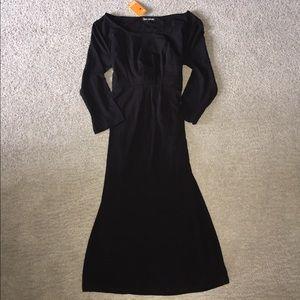 NWT black bow dress
