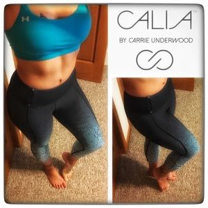 CALIA by Carrie Underwood Pants - Calia by Carrie Underwood ombré Capri with pocket