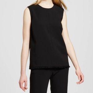 Victoria Beckham for Target black twill top