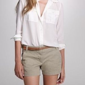 J.Crew Factory Pants - Tan Chino Shorts