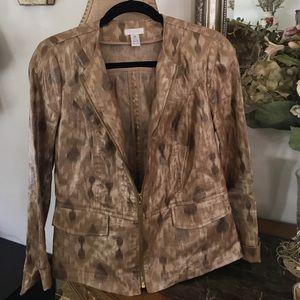 Chico's Jackets & Blazers - NEW CHICO'S LINEN JACKET