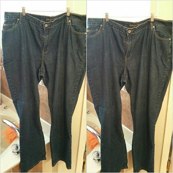 8de05edd8b7 Ashley Stewart Denim - Ashley Stewart plus size denim jeans