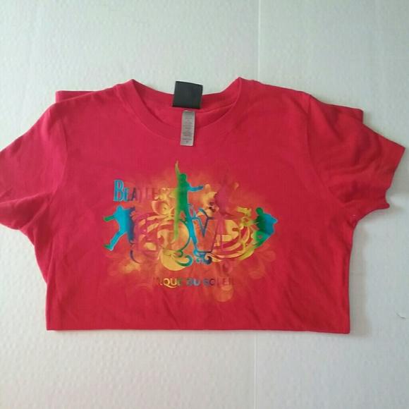 The Beatles Love Cirque Du Soleil Tee Shirt Small