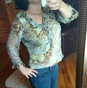 Ice Tops - Silk blouse