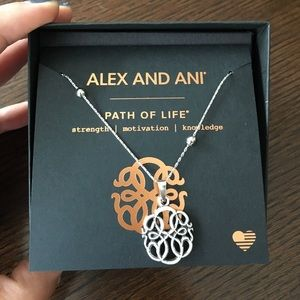 Alex & Ani Jewelry - Alex and Ani path of life necklace