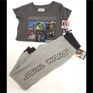 Star Wars Other - Star Wars Girls 2-Piece Outfit