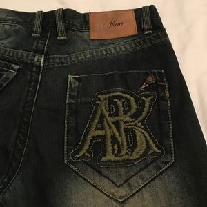"""Akoo Other - Nearly New Men's Akoo Jeans """"32 Straight leg Fit"""
