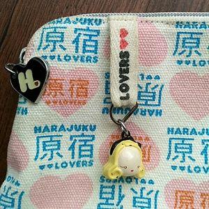 Harajuku Lovers Handbags - 🈳Harajuku Lovers Heart Cosmetic Case