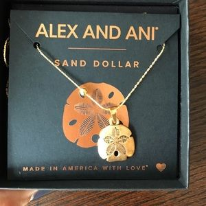 Alex & Ani Jewelry - Alex and Ani sand dollar necklace