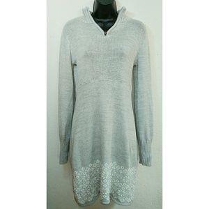 Soybu Dresses & Skirts - SOYBU Fair Isle Nordic Knit Dress