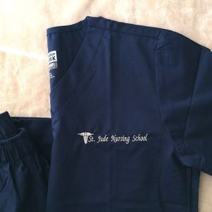 Other - NWT Navy Scrubs Size XS Petite