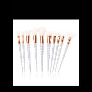 Other - New 10pcs Unicorns Makeup Brushes Set