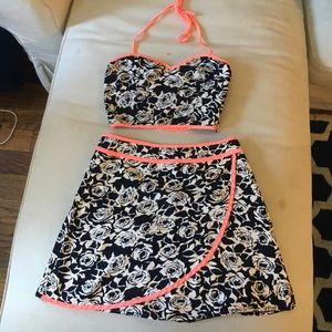 LF skirt and top combo