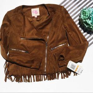 Gianni Bini Other - Gianni Bini cowboy tassel jacket size Small