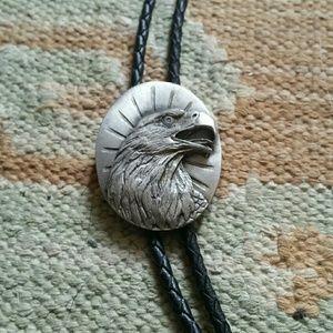 Jewelry - Bald eagle bolo tie