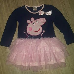 Peppa Pig Other - Peppa pig dress 18-24 months