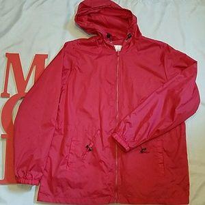 Chadwicks Jackets & Blazers - Chadwicks hooded windbreaker jacket
