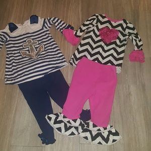 Rare Editions Other - Bundle of Girls size 2t Boutique outfits