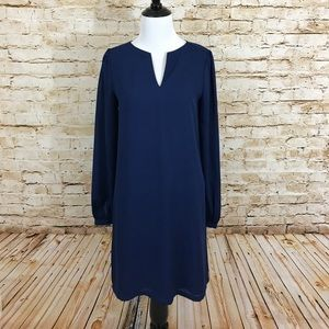 Tinley Road Dresses & Skirts - Blue shift dress - excellent condition!