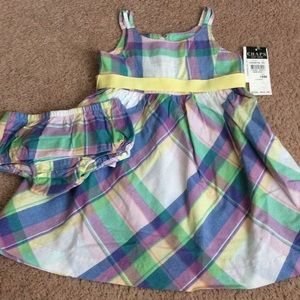 Chaps Other - NEW CHAPS girls 18m dress
