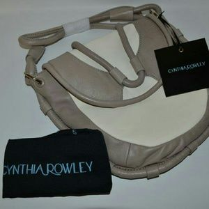Cynthia Rowley Calloway Leather Crossbody Bag  NWT