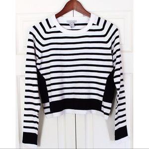 H&M nautical stripe knit top
