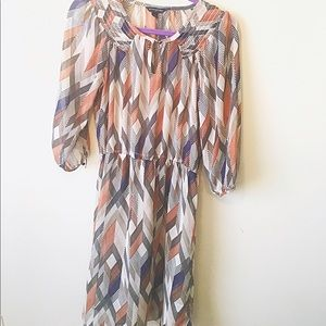 Banana Republic Dresses & Skirts - BR sheer patterned dress