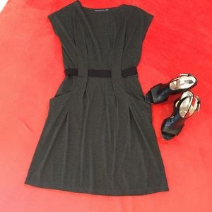 Simply Vera Gray Dress- sz S