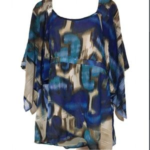 Apostrophe Tops - NWT plus size 16W angel sleeves