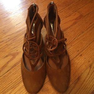 Halogen Brown Heels Size 6