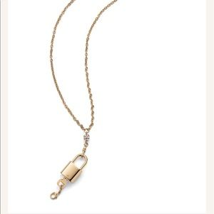 CAbi Jewelry - Cabi lock and key long necklace nwot