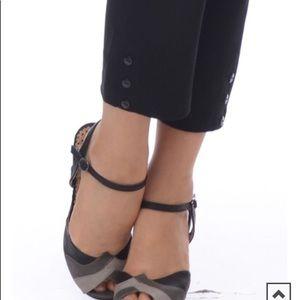 Unique Vintage Pants - 🌼Rock Steady Cinched Capri🌼