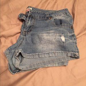 Paris Blues Pants - Jr. Size 11 blue jean shorts